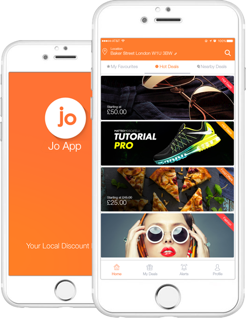 Jo App Deals | Shop now with us everyday