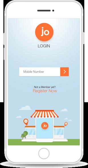 Jo App Login/Register